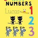 Arty Mouse Numbers Story Book
