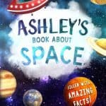 Space Book childrens Story Book