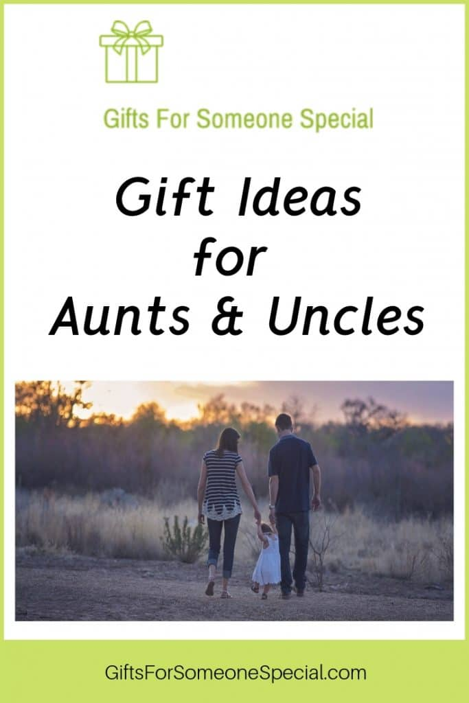 Gifts for Aunts and Uncles